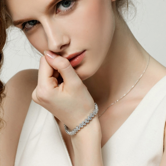 Armband met Swarovski Elements