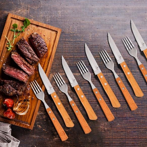 12-delige steak bestekset
