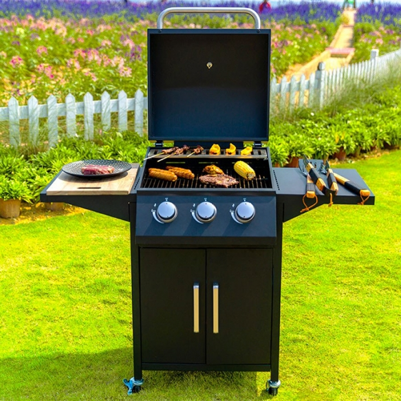 Buccan XL gas barbecue